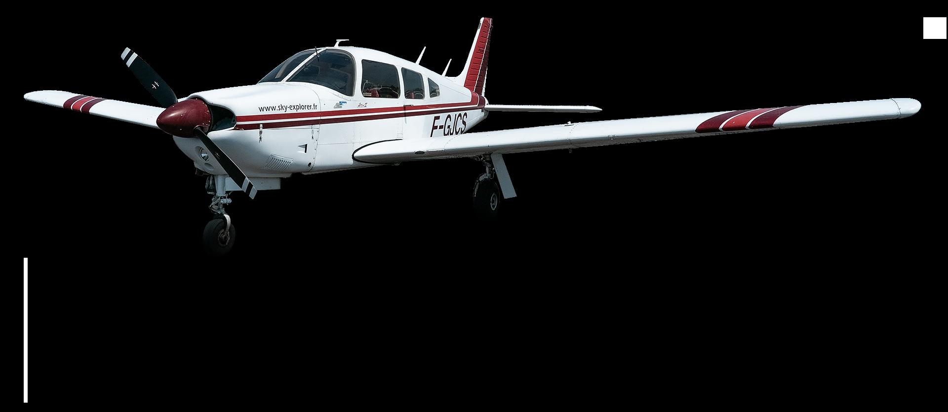 Piper Pa-28 Arrow 2 (F-GJCS) Sky Explorer la flotte ecole aviation aix les milles